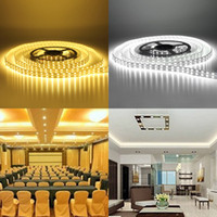 Wholesale Led Lighting Ip 67 - 120LEDs m Double Row SMD 5050 LED Strip light 12V Silicone Tube Waterproof IP 67 flexible Light cool white warm white 25M lot