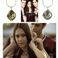 Wholesale Vampire Diaries Vervain Necklace - New fashion jewelry Vampire Diary Elena Vervain Box choker necklace for lovers' wholesale N1012