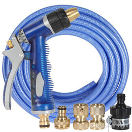 Wholesale Car Hydraulic Pumps - High-Pressure 10 meters Water Spray Gun Machine Cannon Hydraulic Giant Pump For Washing Car   Garden CDE_910