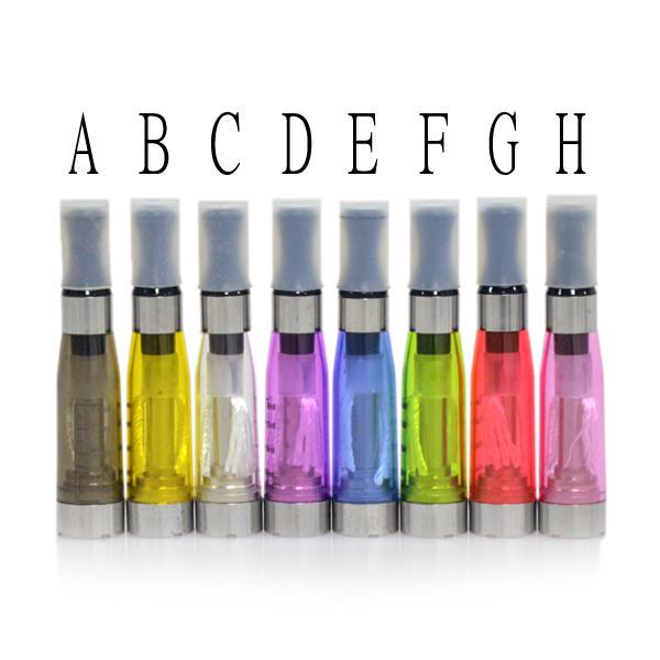 Ego CE4 Clearomizer atomiseur Cartomizer ce5 ce6 réservoir 1.6ml Vaporisateur pour batterie ego-t ego-k kits de démarrage de cigarette 8 couleurs DHL