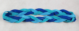 Wholesale Hair Band Silicone - Wholesale-Braided Headband Under Non Slip Armour Style Sweaty Head Sports Thick Hair Bands