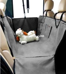 Wholesale Dog Car Hammocks - 2012 Wholesale Pet Supplies Pet Dog Car Seat Cover Waterproof Hammock Grey