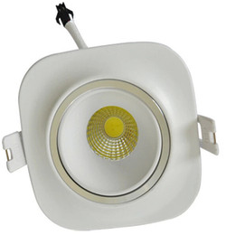 Wholesale Cob Down Lights - High power dimmable COB 10W  85-265VAC  CE RoHS  led cob down light  free shipping