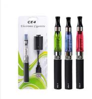 Wholesale Cigarro Electronic - Wholesale - Electronic e cigarette ego t ce4 ce5 vaporizer vape pen mod ecigarette starter kit e-cigarette smoking cigarro eletronico