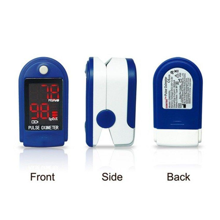 Details about Hot,New,Fingertip Pulse Oximeter,Blood Oxygen Saturation,SpO2 Monitor,PR,CMS50DL