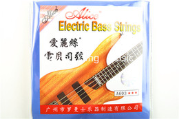 Alice A603-M Electric Bass Strings 4 corde basse della lega di nichel Wound 045-105 libero commerci all'ingrosso