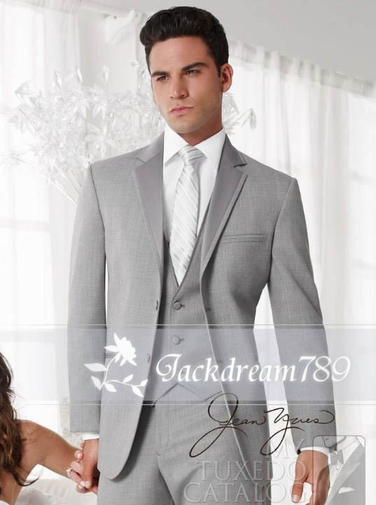 Cool Man Style High Quality Groom Tuxedos Suit Wedding Business ...