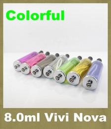 Nova dampf online-EGo elektronische Zigarette abnehmbare VIVI NOVA Zerstäuber 8ml EGo Clearomizer Großer Dampf-Cartomizer AT054