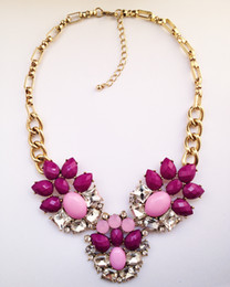 Wholesale C Fashion Necklace - Free Shipping 2013 Trend fashion western costume choker chunky J statement necklace C wholesale for women jewelry