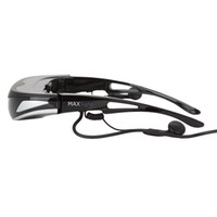 Wholesale Dvd Theater - Itheater 3D Video Glasses Personal Theater VR 80inch Virtual Screen Eyewear MP5 DVD Player Free Shipping