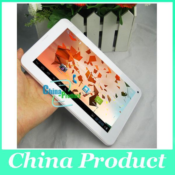 7inch Phablet Allwinner A23 tablet pc 512M/4G dual core 2G phone call bluetooth cheap tab 002396