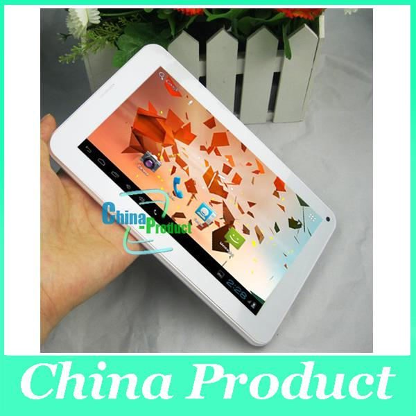 7inch Phablet Allwinner A23 tablet pc 512M/4G dual core 2G phone call bluetooth cheap tab 002396