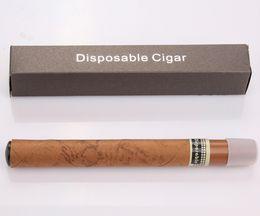 Wholesale Fine Cigars - Disposable Cigar Electronic Cigarette 1500 Puffs Cigar flavor E cigarette vapor cigarettes with Fine Gift box 10pcs retail package