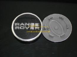 Wholesale center caps stickers - New 10x Black Car Wheel Center Cap Logo Stickers Emblem Badge For Range Rover Free Shipping
