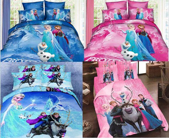 2018 Frozen Bedding Sets Princess Elsa & Anna Olaf Bed Set Quilt ... : frozen quilt cover - Adamdwight.com