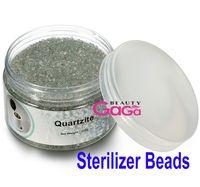 Wholesale Nail Art Machine Beads - BeautyGaGa Supply 500g bottle 3mm Diameter Glass Ball Material Sterilizer Beads Using for Nail Art Sterilizer Machine Free Shipping