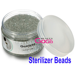 Wholesale Sterilizer Glass - BeautyGaGa Supply 500g bottle 3mm Diameter Glass Ball Material Sterilizer Beads Using for Nail Art Sterilizer Machine Free Shipping