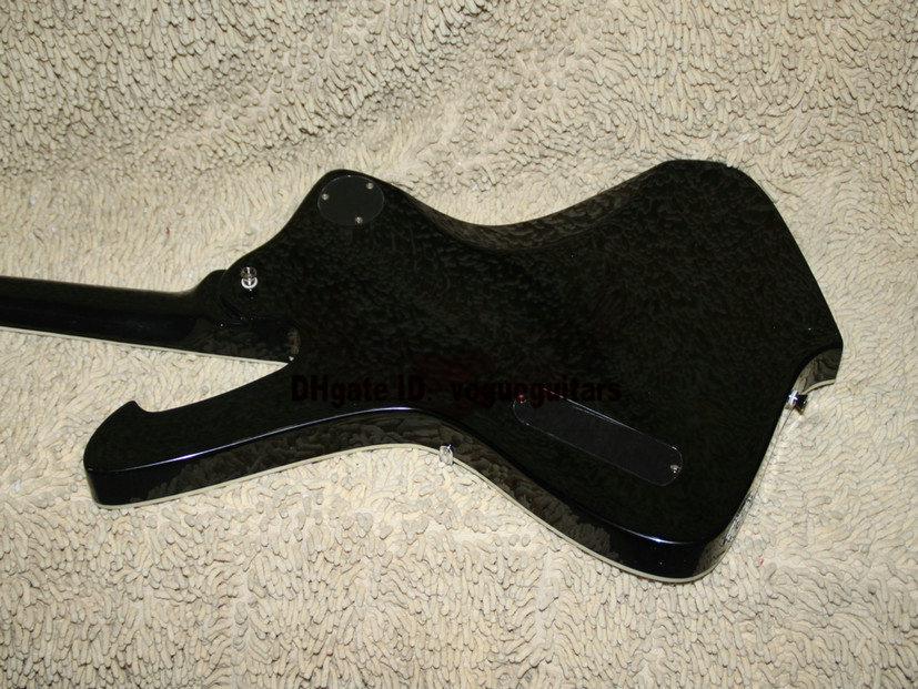 Высокое качество гитары 300 Электрическая гитара гитара Черный классический Бесплатная доставка электрический