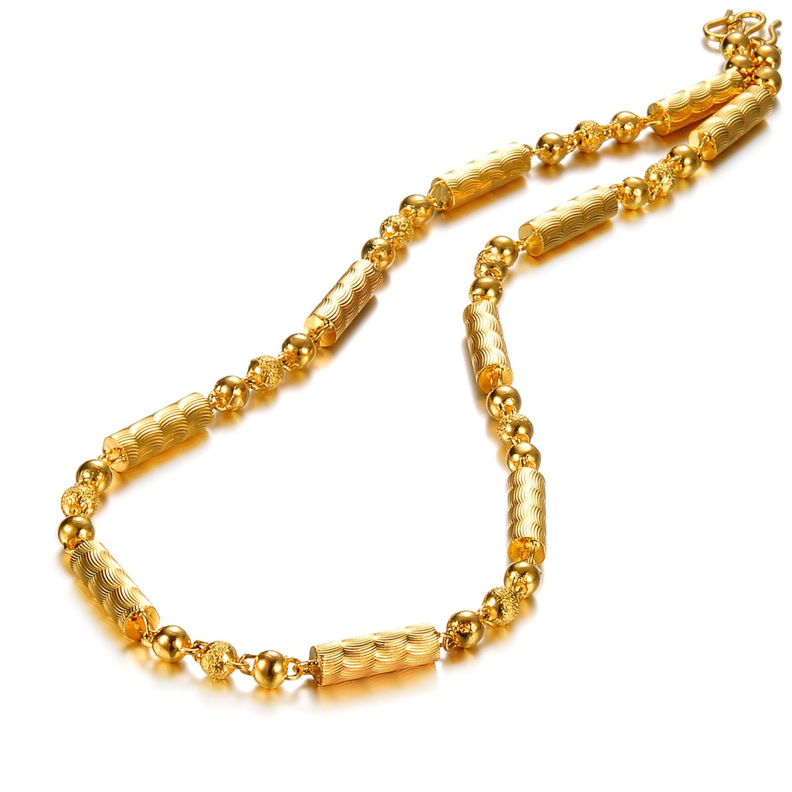 gold com necklace amazon chain inches dp rope jewelry italian plated