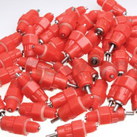 Wholesale Poultry Nipples - 50Pcs Water Cups Nipple Chicken Drinkers Waterer 360 Angle Poultry Supplies