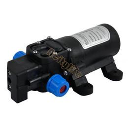 Wholesale Diaphragm High Pressure Water Pump - 2Pcs lot DC 12V 60W 5L min Diaphragm High Pressure Water Pump Automatic Switch #011 TK0932