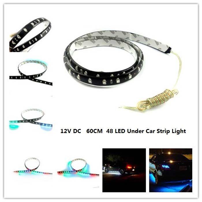 LED Sottoscocca Sottoscocca Neon sotto la carrozzeria Striscia LED a LED Rosso / Giallo / Blu / Verde / Bianco / Variabile 12VDC