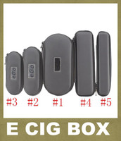 Wholesale Ego T Cigarette Carry Case - Colorful EGo Zipper Case Ego Carry Case Box For Ego T Ego W Ego C Electronic Cigarette Carry Bag Ego Carry Case FJ003