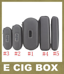 Canada Coloré EGo Zipper Cas Ego Carry Case Box Pour Ego T Ego W Ego C Cigarette Électronique Sac De Transport Ego Carry Case FJ003 cheap electronic cigarette carrying cases Offre