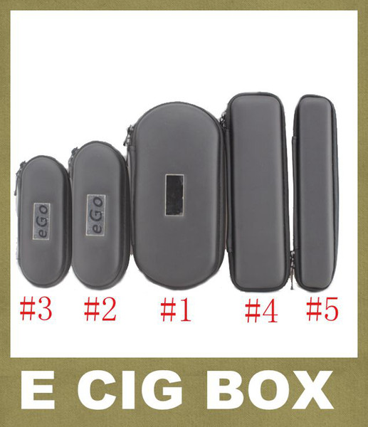 Colorful EGo Zipper Case Ego Carry Case Box For Ego T Ego W Ego C Electronic Cigarette Carry Bag Ego Carry Case FJ003