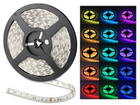 Wholesale Led Color Changing Strip - 100M 20 rolls Led Strip Light RGB 5050 SMD 300Led Waterproof IP65 100 meter led ribbon change color Halloween Christmas String Via DHL