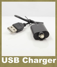Wholesale Ego Usb Cable Charger - EGO USB Charger Short Cable With CE RoHS FCC For E Cig Cigarette Battery 650 900 1100 1300 MAh FJ004