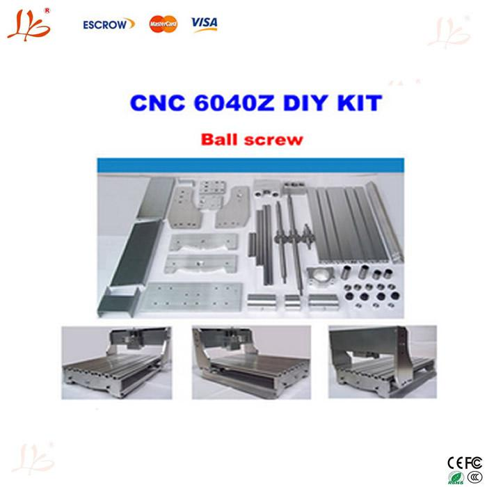 2018 !! Customized Cnc 6040 Frame Kit, Cnc 6040z Rack With Bed, Ball ...