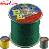 Wholesale Green Lake - 300M fishers zone Super Strong Japanese Multifilament PE Braided Fishing Line 6 8 10 20 30 40 50 60 80 100LB fishing line