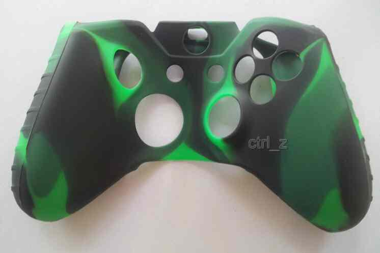 Красочный Мягкий Силиконовый Гель Резиновый Чехол Ручки Обложка Для Microsoft Xbox Один Беспроводного Геймпада Xbox 360