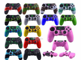 $enCountryForm.capitalKeyWord NZ - Colorful Soft Silicone Gel Rubber Case Skin Grip Cover For Microsoft Xbox One Xbox 360 Wireless Controller