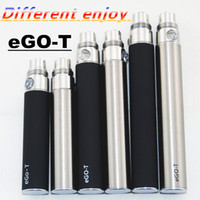 Wholesale Ego Diamond Button - Ecigarette ego battery Ego-t 650mah 900mah 1100mah Battery for Electronics Cigarette adjustable voltage 3.2-4.2V diamond button China direct