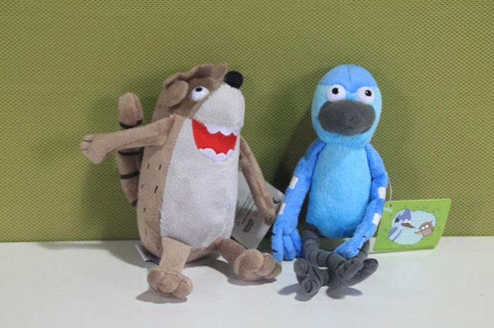 2019 Anime Cartoon Regular Show Mordecai Plush Toy Soft Stuffed Animal Doll  From Kate And Kevin d304f24b9