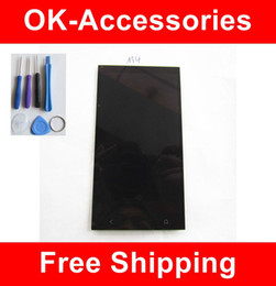 Wholesale One M4 - Touch Screen Digitizer+LCD Display + Free Tools For HTC One Mini M4 1PC  Lot Free Shipping