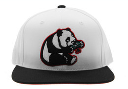 Wholesale Panda Snapback Hat - New Cheap LRG Panda Snapback Cartoon Snapbacks Hat Cap White Wholesale Best Hip Hop Snapback Shop Hats Caps Mix Order Free Shipping