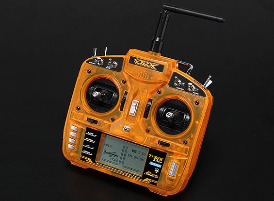 ORX Full Range 2.4GHz 6 CH remote Controller Transmitter with MK610 Receiver Surpass DX6I JR FUTABA RC (Left/Right Hand Throttle)