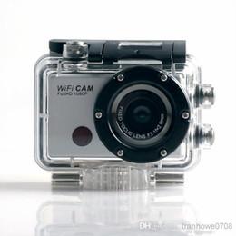 Vente en gros - Livraison gratuite !! 5.0MP Full HD 1080P sous-marin d'action sport CAM intégré WiFi DV Caméscope WDV5000 étanche caméra ? partir de fabricateur