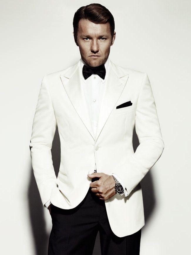 Custom Made White Mens Wedding Suits Groom Tuxedos