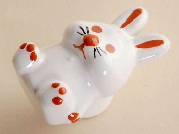 2017 Rabbit Decorative Knobs Dresser Knob Drawer Pulls Handles