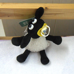 """Wholesale Dolls For Halloween - Free shipping New Shaun The Sheep Baby Lamb TIMMY Plush Doll Toy Best Gift For Kids 5.5"""""""