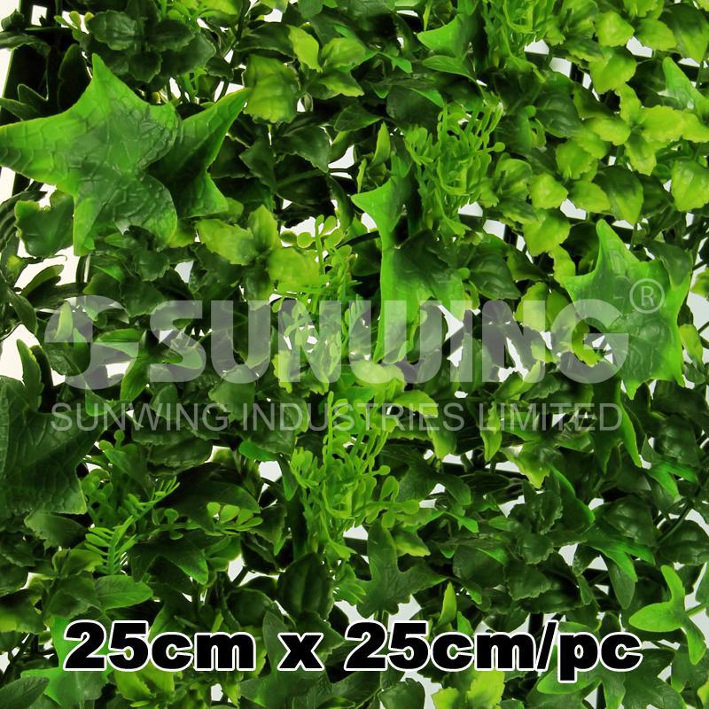 2018 artificial bushes foliage 25cm*25cm plants fake leaves