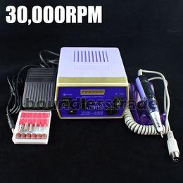 Wholesale-MN-OPHIR NEW 220V (EU Plug) Perceuse de lime à ongles électrique améliorée pour vibrations de surchauffe de 30000 tr / min _KD141B (220V) ? partir de fabricateur