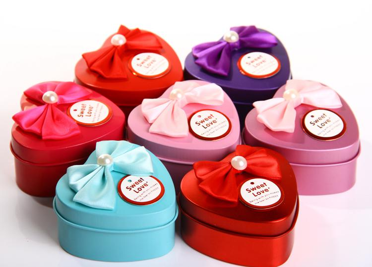 European style 7744cm heart shaped tin candy box with butterfly european style 7744cm heart shaped tin candy box with butterfly knot wedding favour boxes chocolate candy gift box christmas gift box favor boxes wedding negle Gallery