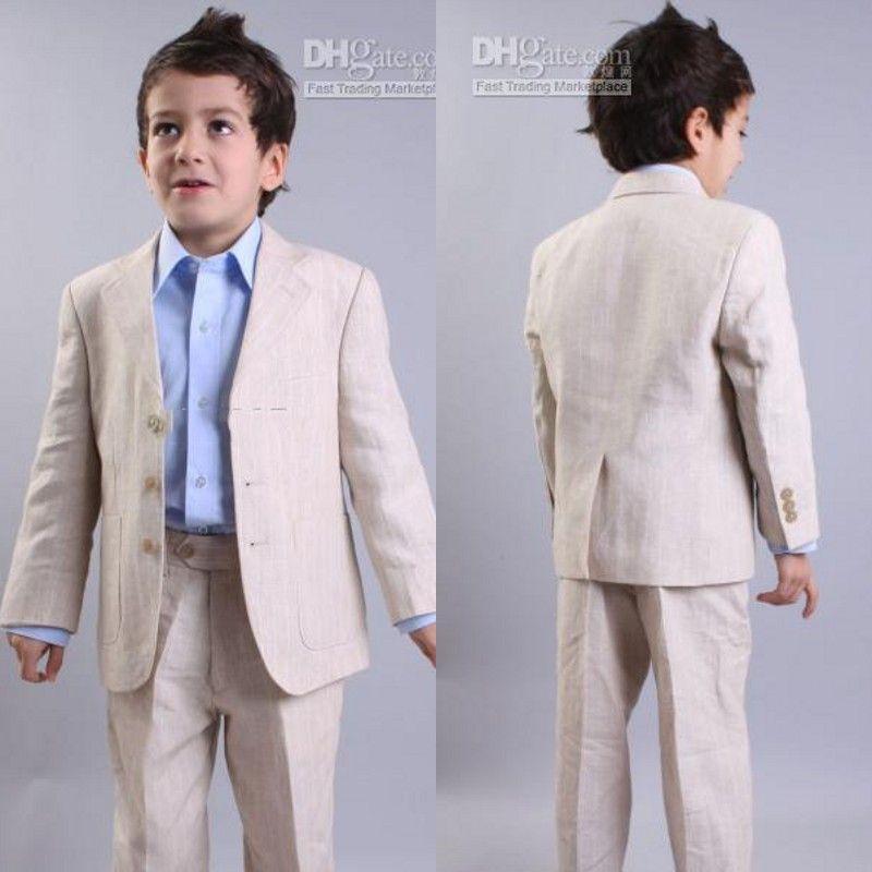 Hot Sale! Custom Made Kids\' Tuxedos Beige Boys\' Suit,Handsome ...