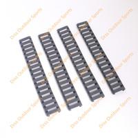 Wholesale Drss Handguard - Drss MP Ladder 18 Slots Low Profile Rail Covers 4pcs pack Black For Handguard AR15 M4(DS9526A)