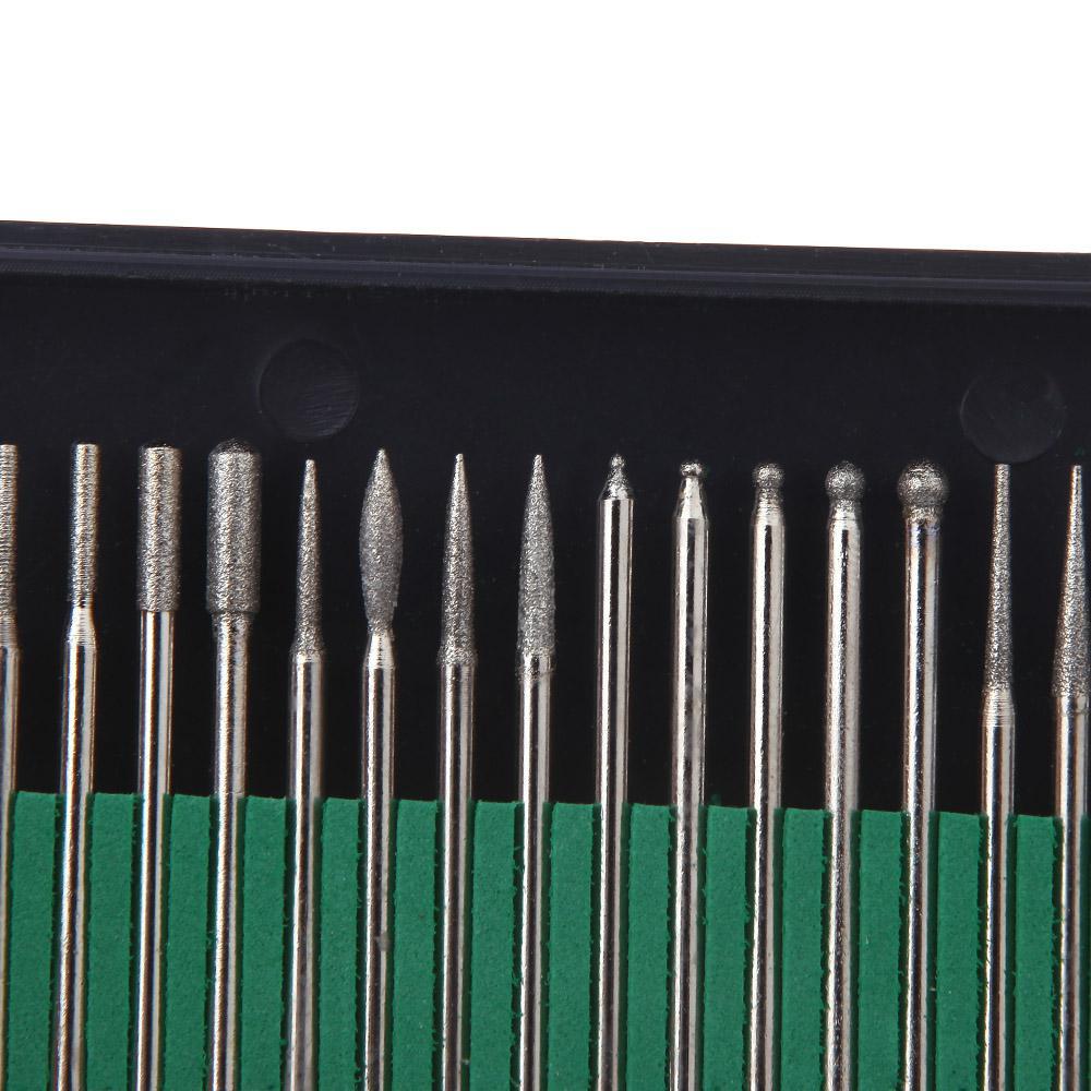 Wholesale-MN-2014 المهنية 30 قطعة / الوحدة الكهربائية مانيكير باديكير القلم مجموعة مسمار الفن أداة مسمار تدريبات بت عدة